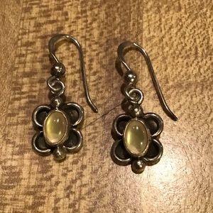 Jewelry - NWOT Artist Signed Sterling Silver Shell  Earrings